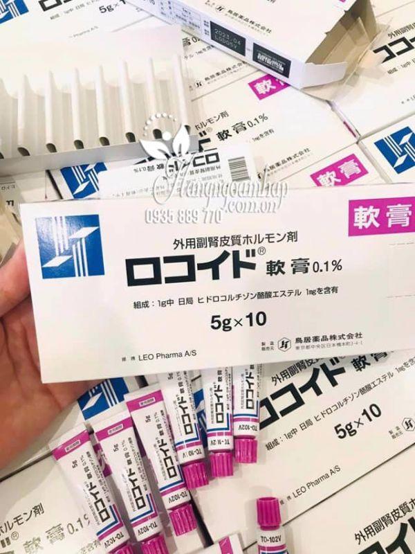 Thuốc mỡ Vitiligo Nhật, trị ngứa da, mề đay, mẩn đỏ cho bé 8