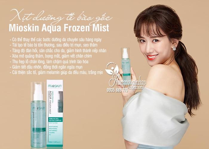Xịt dưỡng tế bào gốc Mioskin Aqua Frozen Mist 100ml 2