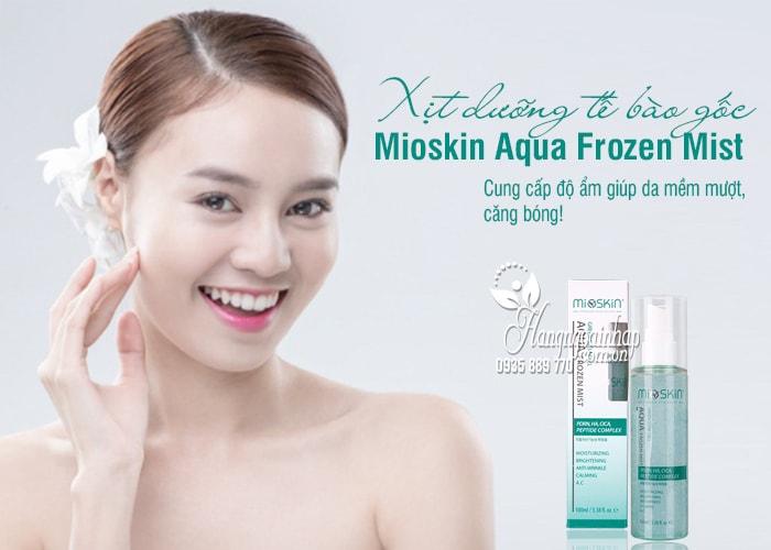 Xịt dưỡng tế bào gốc Mioskin Aqua Frozen Mist 100ml 1