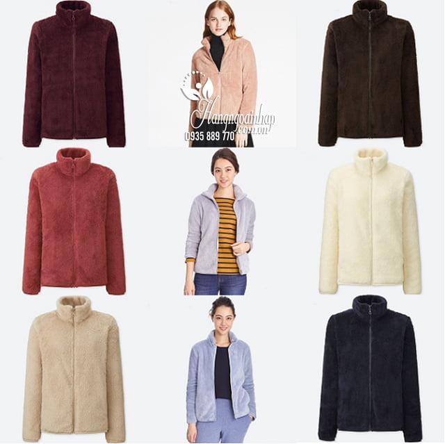 Áo lông cừu Uniqlo Nhật Bản - Áo thu đông đẹp cho nữ 2018 2