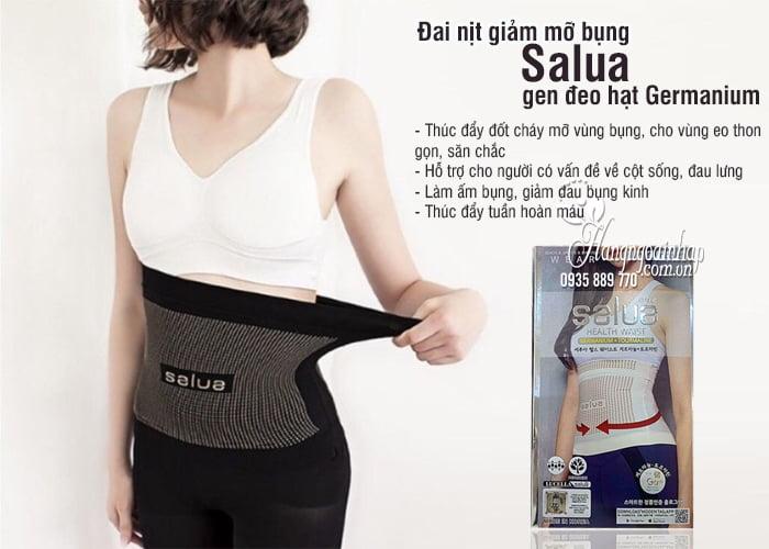 Đai nịt giảm mỡ bụng Salua, gen đeo hạt Germanium của Hàn 3