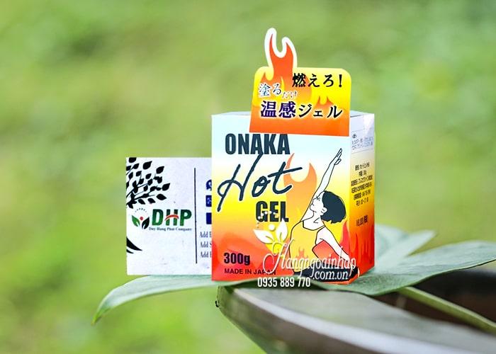 Gel tan mỡ Onaka Hot Gel 300g Nhật Bản hiệu quả nhất 6