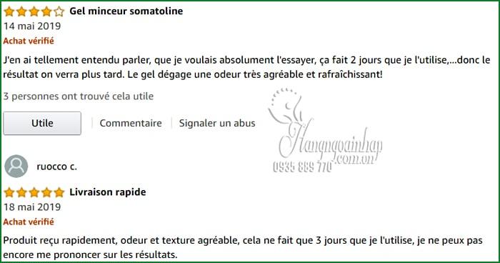 Kem tan mỡ Somatoline Amincissant Intensif 7 Nuits 400ml Pháp 2