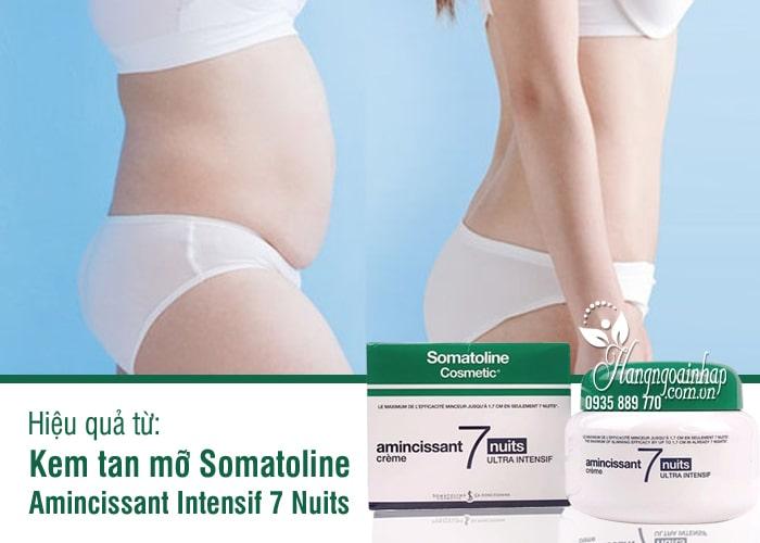 Kem tan mỡ Somatoline Amincissant Intensif 7 Nuits 400ml Pháp 9
