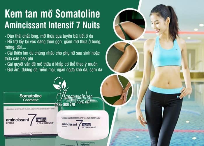 Kem tan mỡ Somatoline Amincissant Intensif 7 Nuits 400ml Pháp 5