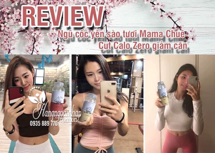 Ngũ cốc yến sào tươi Mama Chuê Cut Calo Zero giảm cân 1