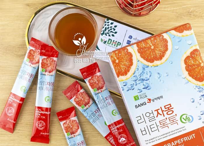 Nước ép bưởi giảm cân Real Grapefruit Vita Tok Tok Sanga 1