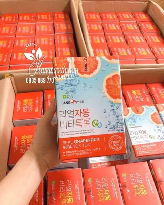 Nước ép bưởi giảm cân Real Grapefruit Vita Tok Tok Sanga 8