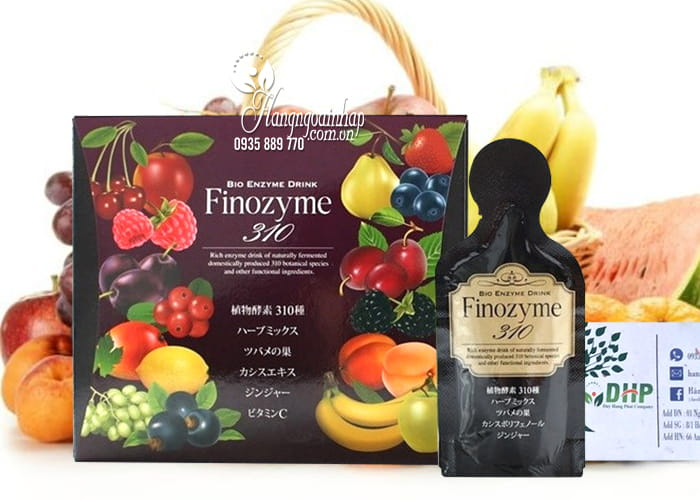 Nước uống giúp giảm cân và đẹp da Finozyme 310 Nhật Bản 8