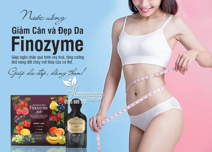 Nước uống giúp giảm cân và đẹp da Finozyme 310 Nhật Bản