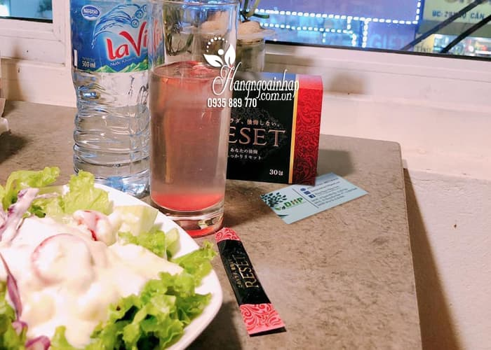 Nước uống Reset 30 gói Nhật Bản, hỗ trợ giảm cân, thanh lọc cơ thể 6