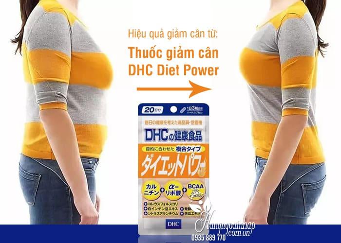 Thuốc giảm cân DHC Diet Power 20 ngày Nhật Bản, màu cam 6