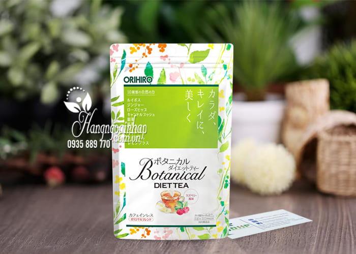 Trà giảm cân Botanical Diet Tea Orihiro Nhật từ thảo mộc 1