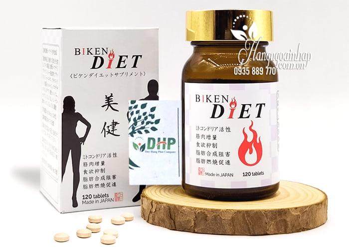 Viên uống giảm cân Biken Diet 120 viên của Nhật Bản 7