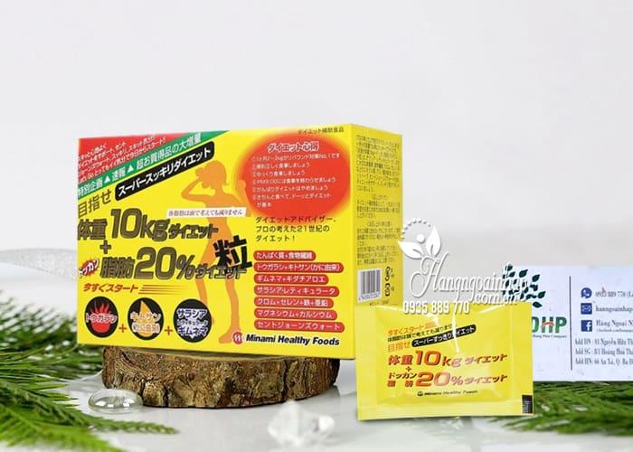 Viên uống giảm cân Minami 10kg Nhật Bản, giá đại lý 6