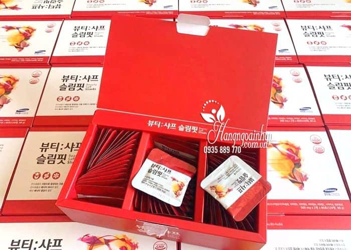 Viên uống giảm cân nhụy hoa nghệ tây Beauty Saff Slimfit Hàn Quốc 1