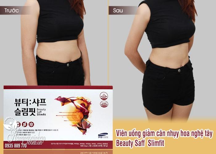 Viên uống giảm cân nhụy hoa nghệ tây Beauty Saff Slimfit Hàn Quốc 4