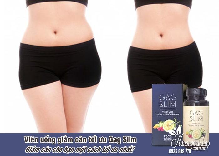 Viên uống giảm cân tối ưu Gag Slim của Mỹ, hiệu quả nhất 5