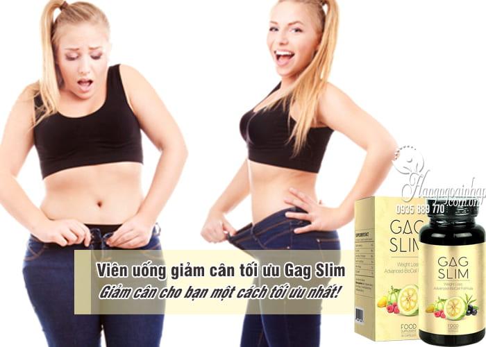 Viên uống giảm cân tối ưu Gag Slim của Mỹ, hiệu quả nhất 1