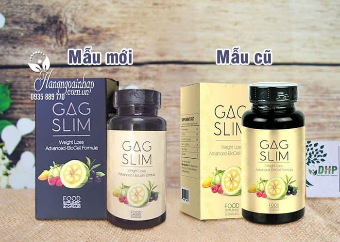 Viên uống giảm cân tối ưu Gag Slim của Mỹ, hiệu quả nhất 7