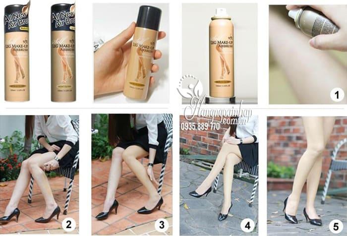 Tất phun chân Yufit Air Brush Legs Make-up của Hàn Quốc 9