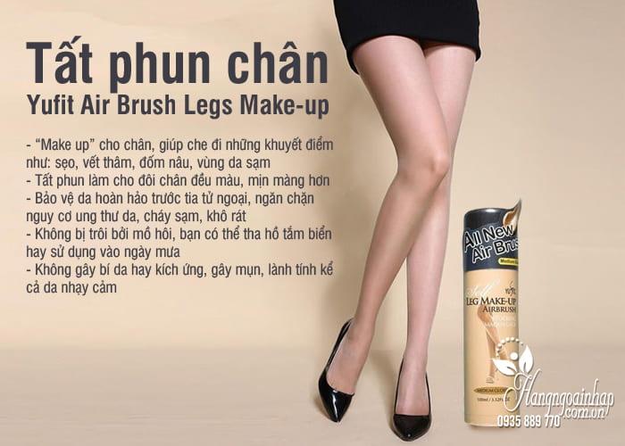 Tất phun chân Yufit Air Brush Legs Make-up của Hàn Quốc 6
