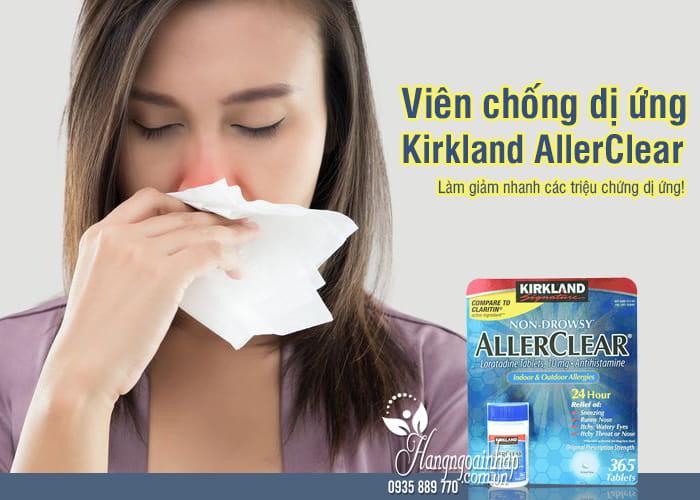 Viên chống dị ứng Kirkland AllerClear 365 viên Mỹ  1