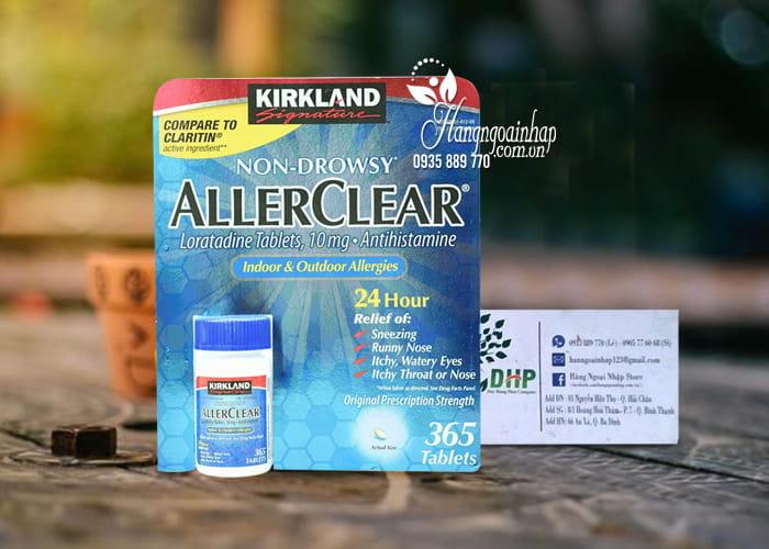 Viên chống dị ứng Kirkland AllerClear 365 viên Mỹ  4
