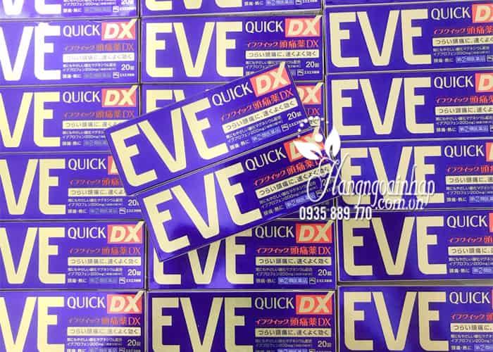 Viên uống giảm đau, hạ sốt Eve Quick DX nội địa Nhật 1
