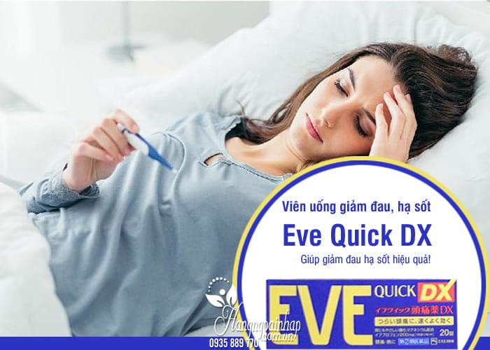 Viên uống giảm đau, hạ sốt Eve Quick DX nội địa Nhật 5