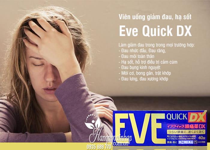 Viên uống giảm đau, hạ sốt Eve Quick DX nội địa Nhật 3