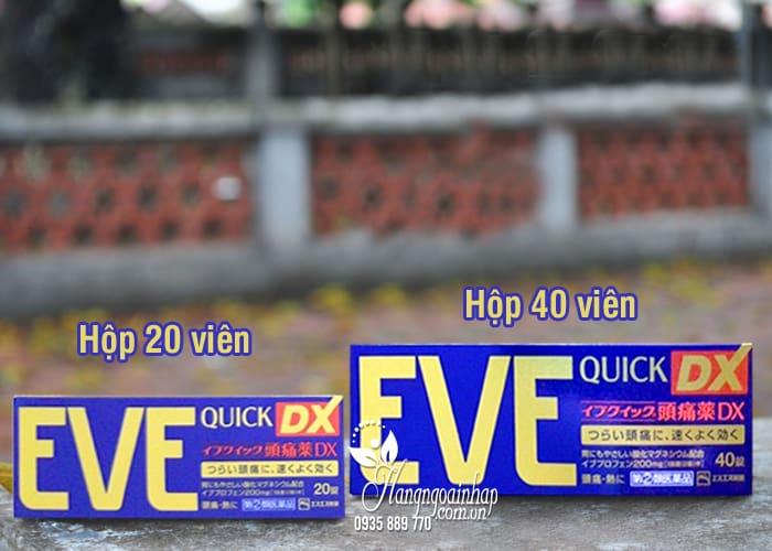 Viên uống giảm đau, hạ sốt Eve Quick DX nội địa Nhật 2