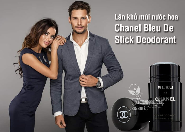 Lăn khử mùi nước hoa Chanel Bleu De Stick Deodorant 75ml 2