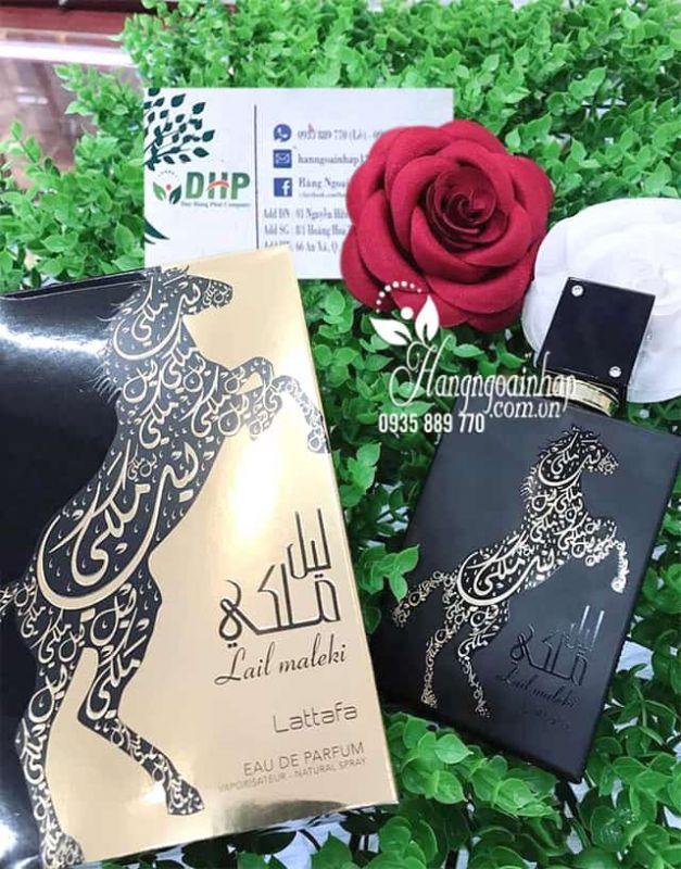 Nước hoa Dubai mẫu con ngựa Lattafa Lail Maleki chai 100ml 7