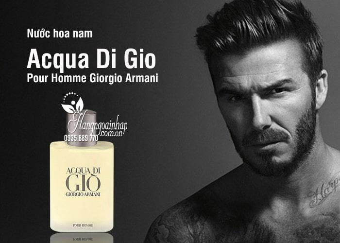 Nước hoa nam Acqua Di Gio Pour Homme Giorgio Armani 100ml 2