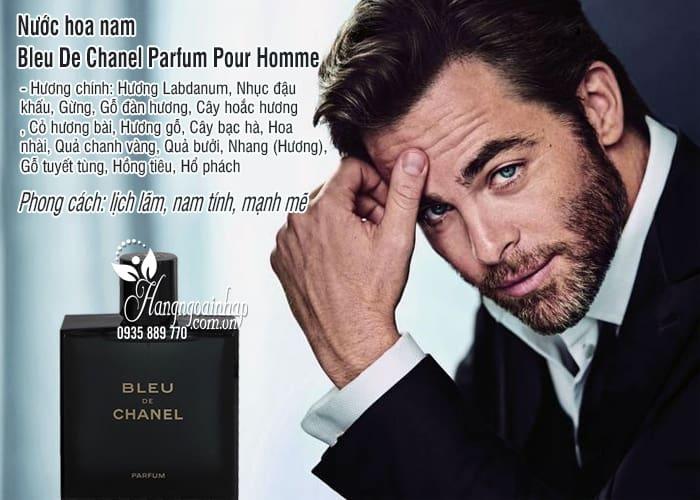 Nước hoa nam Bleu De Chanel Parfum Pour Homme 5ml hot nhất 1