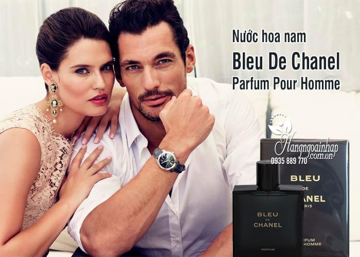 Nước hoa nam Bleu De Chanel Parfum Pour Homme 5ml hot nhất 2