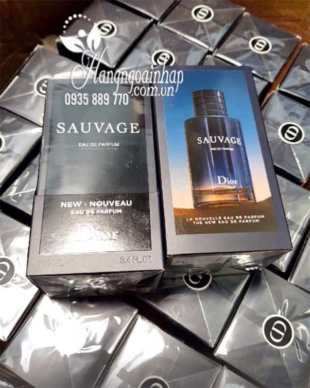 Nước hoa nam Dior Sauvage Eau De Parfum chai 100ml của Pháp 1
