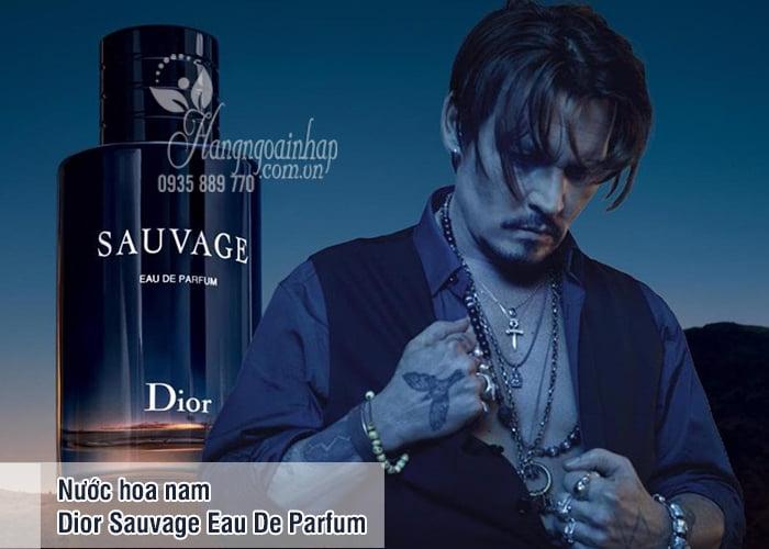 Nước hoa nam Dior Sauvage Eau De Parfum chai 100ml của Pháp 8