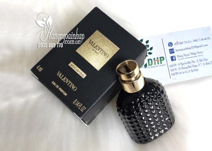 Nước hoa nam Valentino Uomo Noir Absolu mini 4ml 9