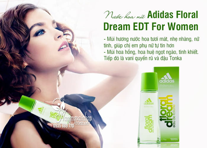 Nước hoa nữ Adidas Floral Dream EDT 50ml For Women 5