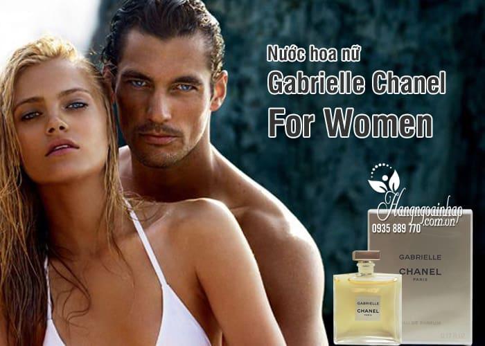 Nước hoa nữ Gabrielle Chanel For Women 5ml của Pháp 2