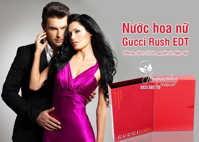 Nước hoa nữ Gucci Rush EDT 75ml của Pháp 4