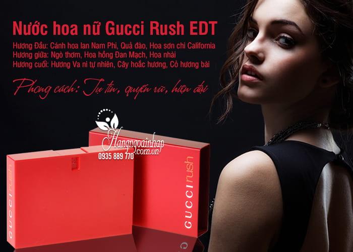 Nước hoa nữ Gucci Rush EDT 75ml của Pháp 1