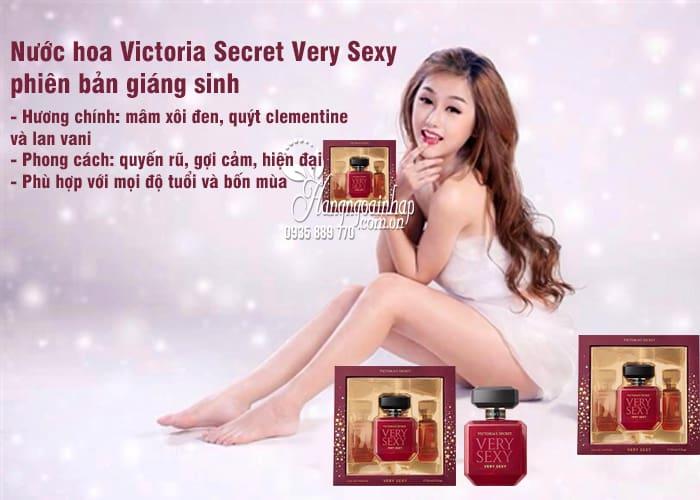 Nước hoa Victoria Secret Very Sexy 30ml phiên bản giáng sinh 2