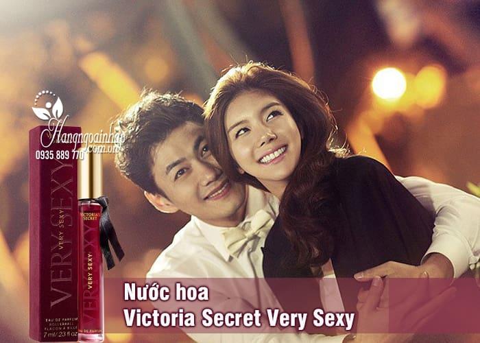 Nước hoa Victoria Secret Very Sexy mini 7ml của Mỹ 3