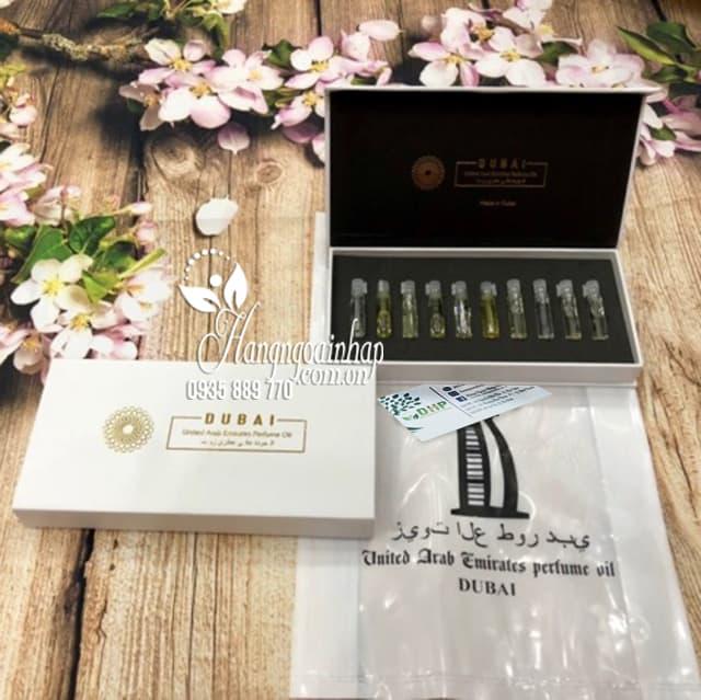 Set 10 tinh dầu nước hoa Dubai mini chính hãng 7