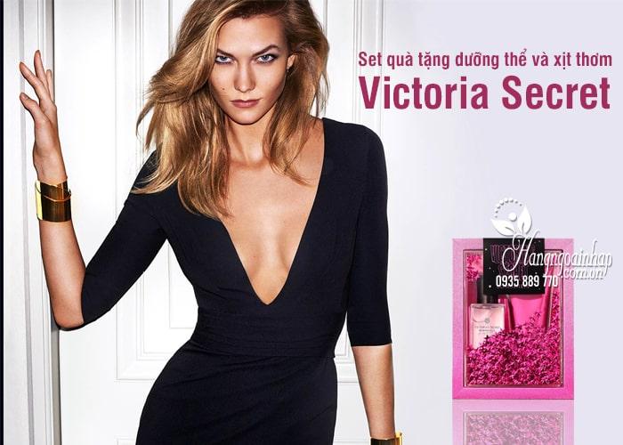 Set quà tặng dưỡng thể và xịt thơm Victoria Secret 75ml của Mỹ 13