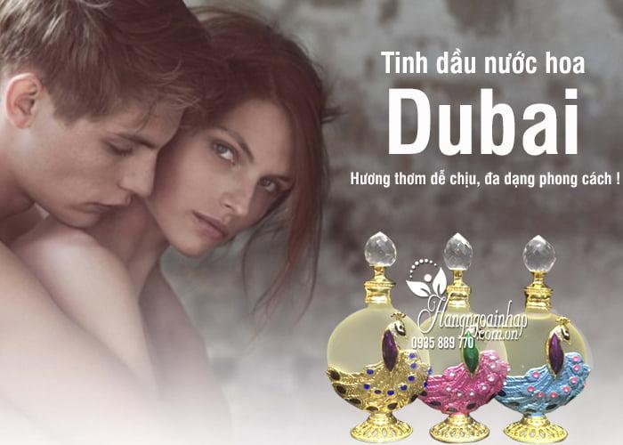 Tinh dầu nước hoa Dubai mẫu mới 35ml - Thiết kế tinh tế 1