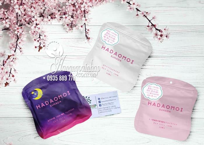 Mặt nạ tế bào gốc Hadaomoi Suhada Japan 30 miếng của Nhật Bản 6